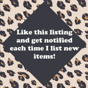 New listings have been added to my closet!